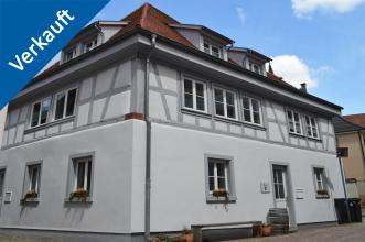 Außenansicht des Stadthauses in Ettlingen
